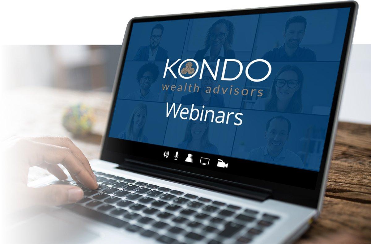 Kondo Webinars